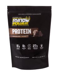 Ryno Power 2LB Chocolate Protein Powder
