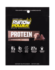 Ryno Power Chocolate Protein Powder Single Seving