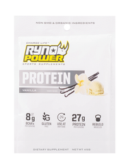 Ryno Power Vanilla Protein Powder Single Seving