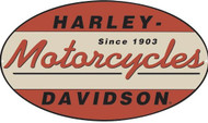"H-D 1903 Oval 18"" x 10.5"" Sign"