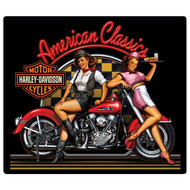 """H-D American Classic Babes 15"""" x 13"""" Sign"""