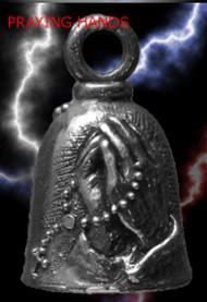 Praying Hands Guardian Bell