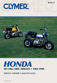 HONDA 50-110CC, OHC SINGLES 1965-1999 Clymer Manual