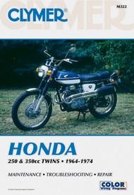 HONDA 250 & 350 CC TWINS, 1964-1974 Clymer Manual