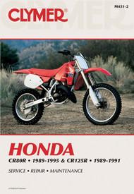 HONDA CR80R 1989-1995 AND CR125R 1989-1991 Clymer Manual