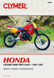HONDA CR250R-500R PRO-LINK 1981-1987 Clymer Manual