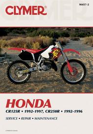 HONDA CR125R 1992-1997 AND CR250R 1992-1996 Clymer Manual