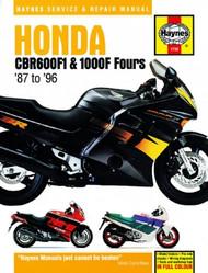 Honda CBR600F1 & 1000F Fours (87-96) Haynes Manual