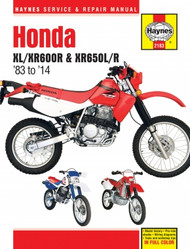 Honda XL/XR600R & XR650L/R (83-14) Haynes Manual