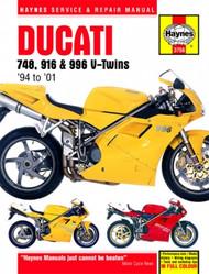 Ducati 748, 916 & 996 V-Twins (94-01) Haynes Manual