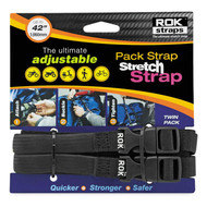 "Rok Strap 5/8"" Medium Duty Cruiser Black 12""-42"""