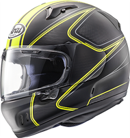 Arai Defiant-X DIABLO YELLOW FROST Fullface Helmet