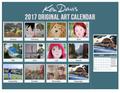 2017 Ken Davis Original Art Calendar