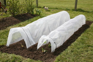 "Easy Tunnels are available in two sizes: Regular and Giant. Both sizes are 118"" long. The Giant is 6"" wider and 6"" taller than the Regular."