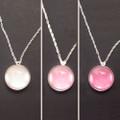 Glass Color Changing Ultra Violet UV Detector Necklace