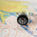 Where are YOU? - Liquid Filled Compass Ring
