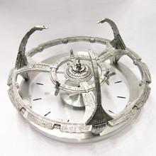 Deep Space 9 clock is 3 dimensional