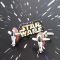 Star Wars Slave I Cufflinks are made from real near vintage toys.