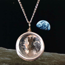 Working Earth Compass Necklace will tell you where you are.