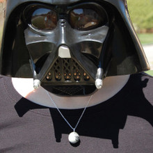 Come to the Dark Side with a rare Death Star Necklace