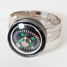 Mini Working Compass Adjustable Ring