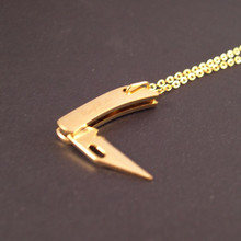 Gold Knife Necklace really works