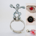 YOU are Sooo Attractive - Magnet Ring with Fun Metal Items