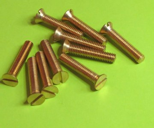 Brass Screws Countersunk Head