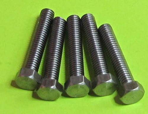 Steel Hexagon Head Screws (small head)