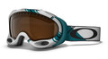 Oakley A-Frame 7001 Sunglasses 01-961 White/Blue Arcade Plaid