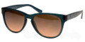 ARMANI EXCHANGE AX 4015 Sunglasses 804395 Matte Ocean Teal 56-17-135