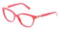 Dolce & Gabbana Eyeglasses DG 3188 588 Red 53-17-140