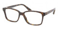 Prada Eyeglasses PR 01OV 2AU1O1 Havana 54-16-135
