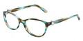 Tiffany Eyeglasses TF 2093H 8124 Ocean Turquoise 52-17-140
