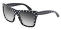 Dolce & Gabbana Sunglasses DG 4228 28748G Top White Black 55-20-140