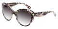 Dolce & Gabbana Sunglasses DG 4236 28428G Black Peach Flowers 56-19-140