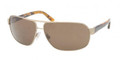 POLO Sunglasses PH 3066 920173 Brushed Pale Gold 66MM
