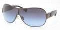 Coach 7005B Sunglasses 901717 Dark Silver-Black
