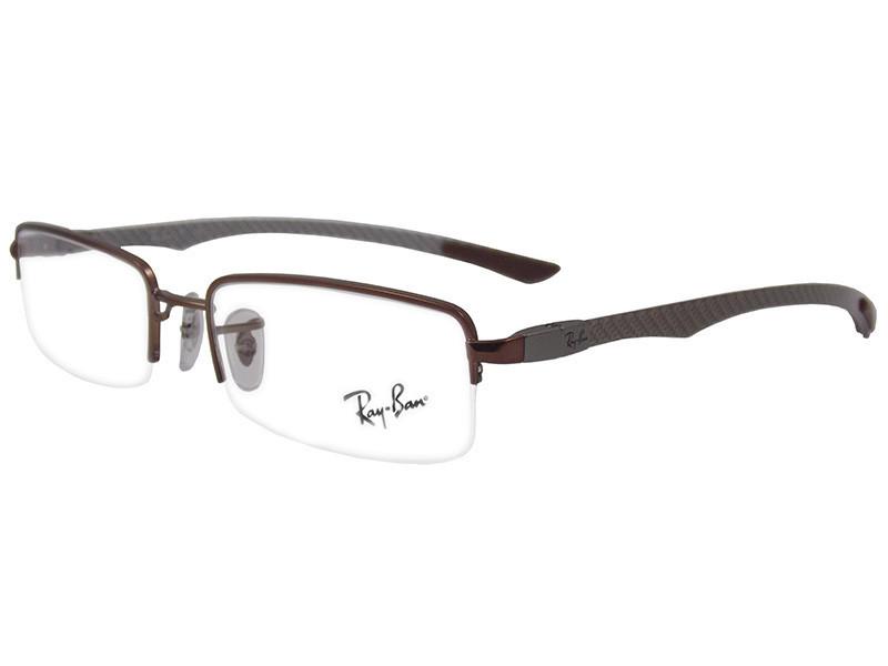 Ray Ban RX8407 Eyeglasses 2690 Brown 52mm