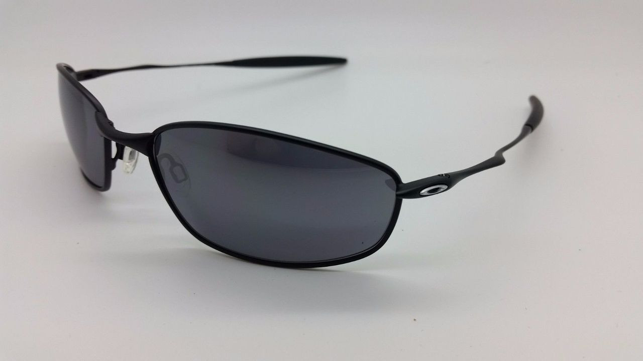 Oakley Whisker 4020 Sunglasses 05-722 Matte Black 60mm