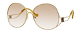 Balenciaga 0126 Sunglasses 0OUNS6 Antique Gold