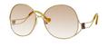 Balenciaga 0126 Sunglasses 0OUNS6 Antique Gold