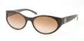 TORY BURCH TY 7038 Sunglasses 104313 Tort Orange 57-18-135