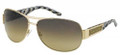 Marc Jacobs 125/U/S Sunglasses 0VUQ6R Gold/Green Marble Ice Black (6514)