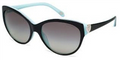 Tiffany & Co Sunglasses TF 4065B 80553C Blk Blue 58MM