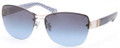 Coach Sunglasses HC 7013B 906017 Slv Blue 59MM
