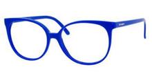 Yves Saint Laurent Eyeglasses 6372 099X Electric Blue 54MM ...