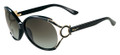 Salvatore Ferragamo Sunglasses SF600S 001 Black 61MM