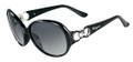 Salvatore Ferragamo Sunglasses SF601S 001 Blk 59MM