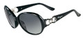 Salvatore Ferragamo Sunglasses SF601S 001 Blk 59MM